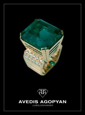 Juwelenfasser Arbeit von Avedis Agopyan